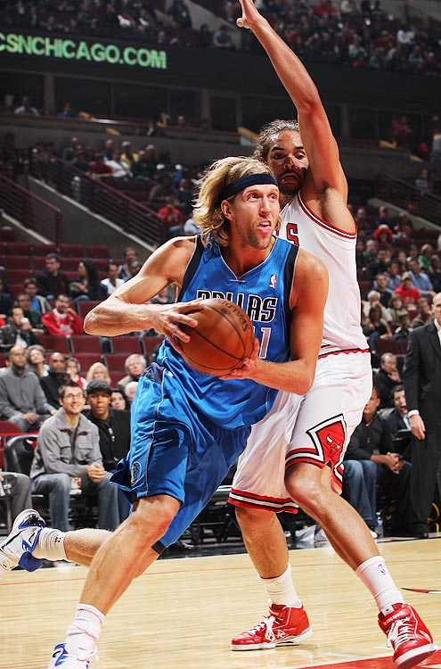 2009-10 Key Stats: 25 ppg | 7.7 rpg | 1 bpg | 91.5% FT   Consistent is fantasy gold, and no one is more consistent than Dirk Nowitzki.  Since his rookie year he's never missed more than six games in a season, and he's a lock for at least 20 points, seven rebounds and immaculate percentages.  In a league where fewer and fewer power forwards are blocking shots, you can also count on him for at least one a game.  Even though his skills are in the decline he's a top-five player.