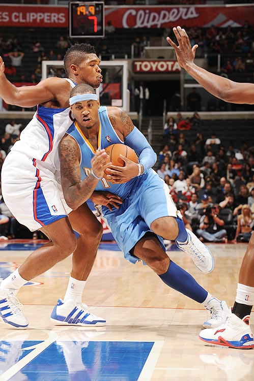 2009-10 Key Stats: 28.2 ppg | 6.6 rpg | 1.3 spg | 83% FT   If you're hurting for points at the end of the second round, Carmelo Anthony is your man.  He can score in bunches, and should start the season on a scoring tear as he tries to buttress his trade value.  But Carmelo is not a first-round pick.  His assists numbers are paltry, his percentages are pedestrian and he barely hits a three a game.  In a rare instance where reality mirrors fantasy, Carmelo is a good player but not a great one.