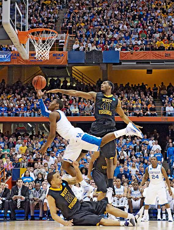 Wall was able to bring the Wildcats to the Elite Eight, as he averaged 14.5 points, five rebounds and 7.8 assists during the NCAA tournament.  Unfortunately, a bout of cold shooting against West Virginia in said Elite Eight game ended the Wildcats quest for a national title.
