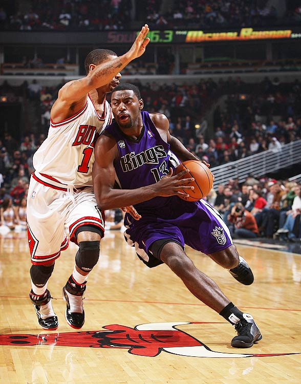 In December 2009, the Sacramento Kings made one of the most improbable comebacks in NBA history. Down 79-44 with 8:50 left to play in the third quarter, the Kings kept chipping away and eventually rallied to beat the Bulls. Evans was instrumental in the comeback, outscoring the Bulls 9-3 in the last two minutes of the game.