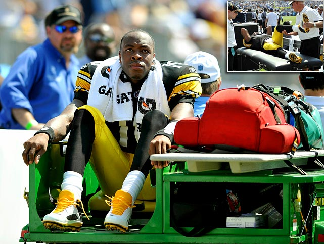 After starting the first two games in place of suspended quarterback Ben Roethlisberger, Dennis Dixon suffered a meniscus tear in his left knee in Week 3. He's out for the season.