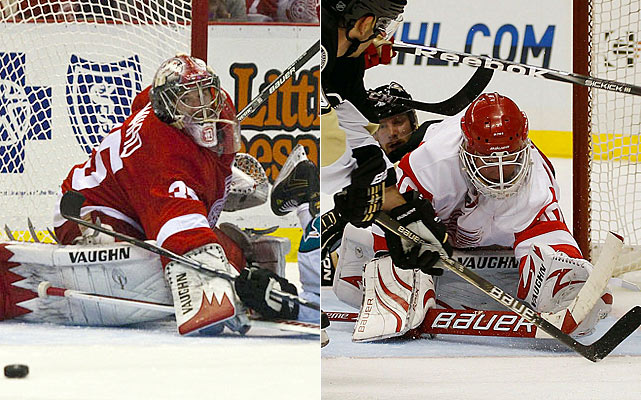 Howard played brilliantly last season in his first real whack at the NHL level. Osgood morphed into the mentor-backup role to great effect. It's a unique dynamic and one of the better storylines from a season ago. Both goaltenders should be able to carry their roles even further this time around.    Click HERE  for Darren's take on the goaltending trend in the NHL.