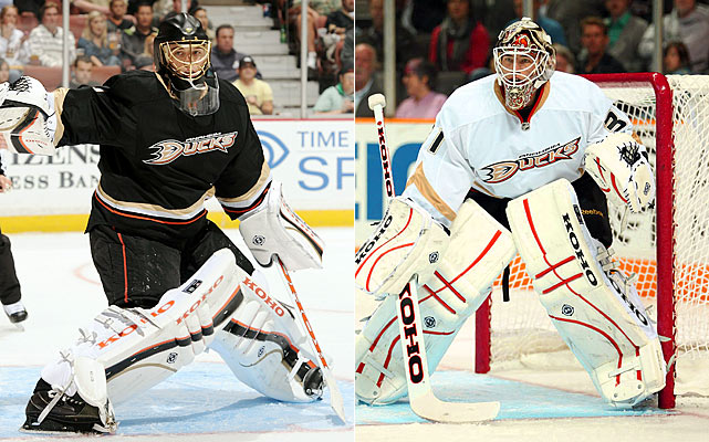 Hiller is the go-to guy and he will be forced to make more tough saves than ever before, given the state of flux in which the Ducks' blueline finds itself. McElhinney is a backup in every sense of the word, with no starting pedigree at this level to speak of.   Click HERE  for Darren's take on the goaltending trend in the NHL.