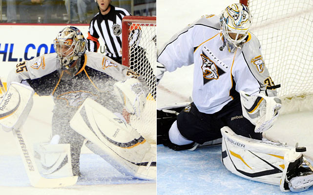 Rinne outplayed the now-departed Dan Ellis for starting time and the accompanying long-term deal that went with the role. Now Rinne must deliver consistency from start to finish this season and do it without any proven backup behind him. He didn't play his best until halfway through last season's campaign -- and that made life much tougher for the Preds in the hotly contested Western Conference.    Click HERE  for Darren's take on the goaltending trend in the NHL.