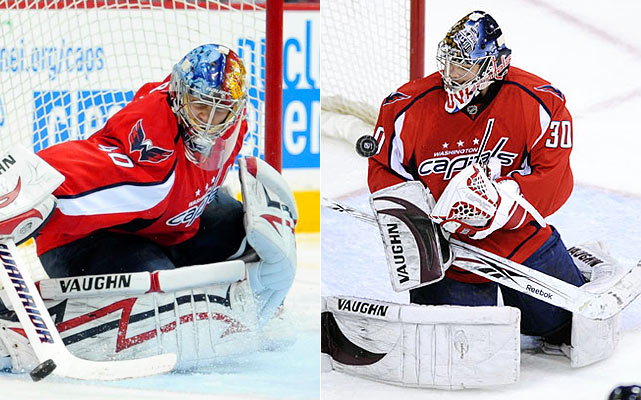 Two young, promising netminders vying to assert themselves as the starter sounds like what the Canadiens have gone through the past couple of seasons. The question is who will win that battle -- Varlamov or Neuvirth -- and will the Caps follow suit and trade one, perhaps even the eventual winner? Step one starts on opening night.    Click HERE  for Darren's take on the goaltending trend in the NHL.