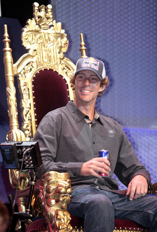 Ryan Sheckler, James Stewart and castmates from Nitro Circus turned out for Red Bull Gets Toasted with Travis Pastrana to honor the legend's career.