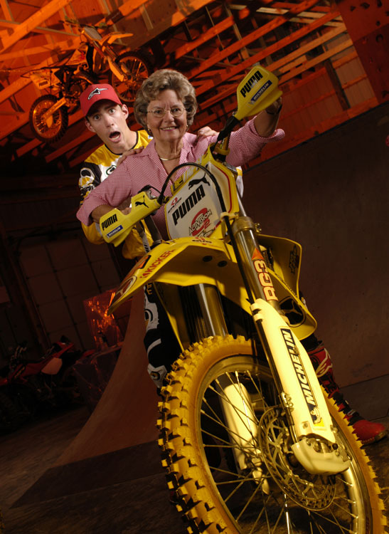 Pastrana had started to already become a household name when he posed for this  SI for Kids  shoot in 2003.