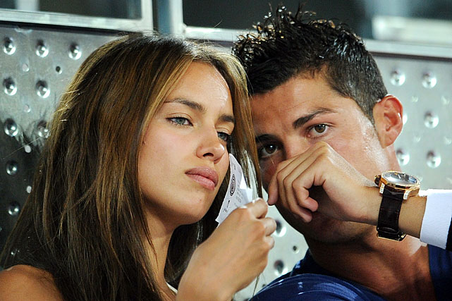 The Portuguese footballer and Russian model began dating in the spring of 2010.