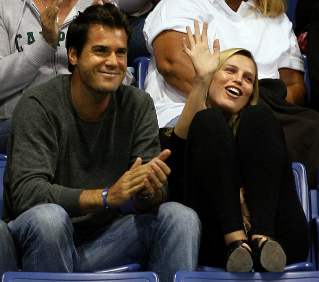 The professional tennis player and the actress are married and have a daughter, Valentina (born November 15, 2010).