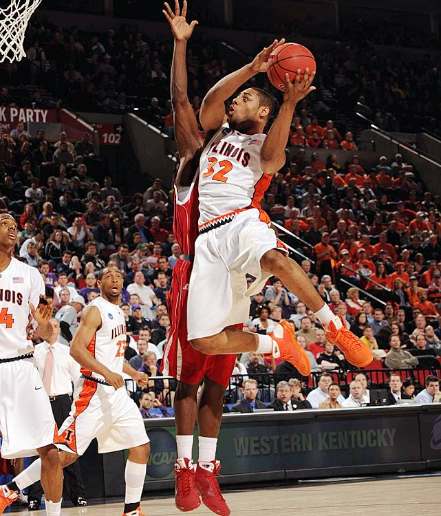 McCamey may be the most underrated point guard in America. He's the nation's leading returner in assists per game at 7.1. The first-team All-Big Ten pick also led the Illini in scoring last season with 15.1 points per game, but he needs to provide a more consistent effort in his senior campaign. With McCamey leading the way, this may be Bruce Weber's most talented team since the 2005 national runner-up.