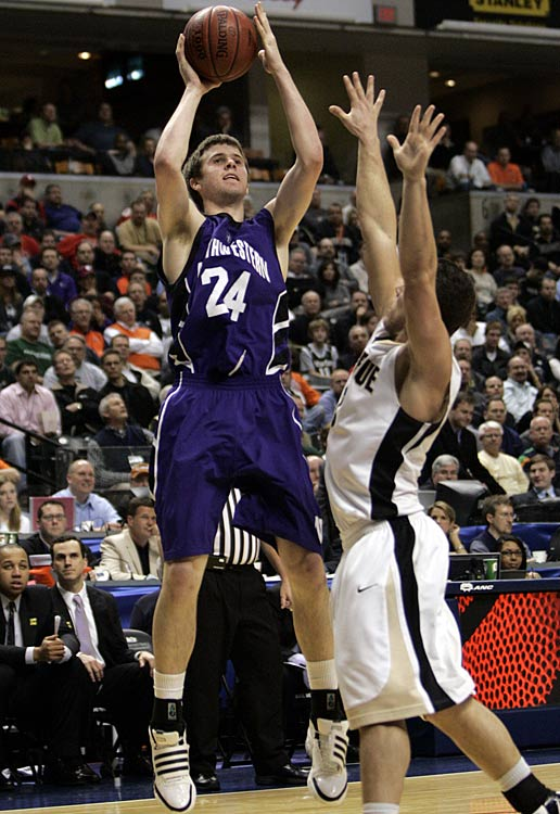 Northwestern is the only major-conference team that's never made the NCAA tournament, and if the Wildcats are to end a 71-year drought, Shurna will undoubtedly play a chief role. The 6-foot-8 wing burst on the scene last season, averaging 18.2 points and 6.4 rebounds. The strange exit of Kevin Coble doesn't hurt as bad as one would think because Shurna basically plays the Coble role, and plays it at a very high level.
