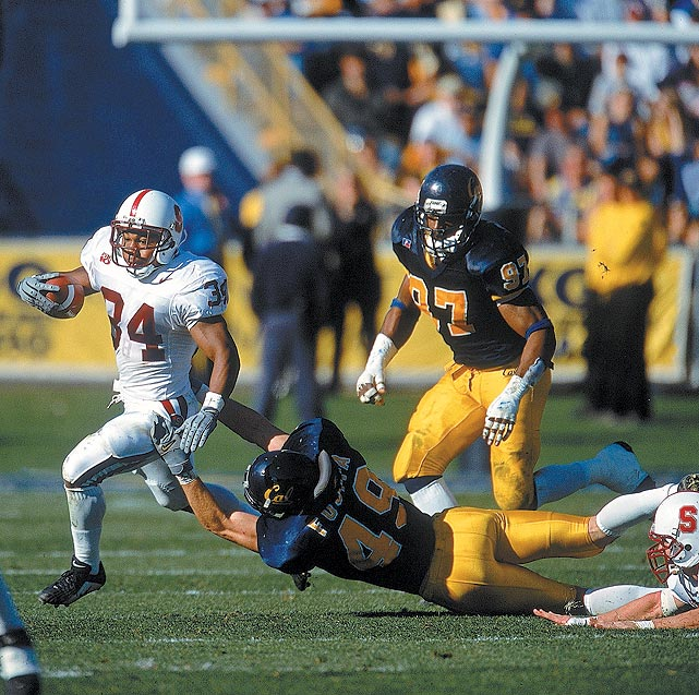 Though recruited by several Ivy League schools, Fujita opted to walk on at the University of California in 1997.  Originally a safety, Fujita made the seamless transition to collegiate linebacker and earned a scholarship shortly thereafter.