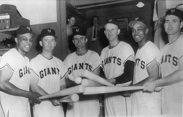 Other key members of the 1954 squad included Williams (2B), Gardner (3B), Lockman (1B), Irvin (LF) and Dark (SS). The team finished in first place in the National League with a 97-57 record.
