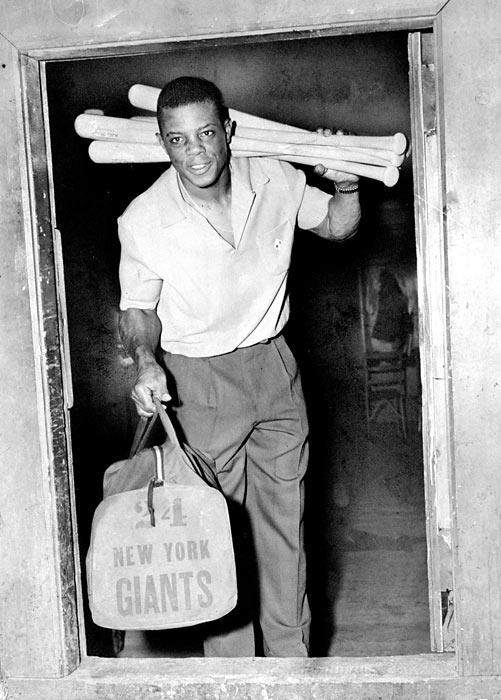 The team was led by Willie Mays, who won the 1951 Rookie of the Year Award. He missed most of the 1952 season and all of the 1953 season serving in the Army. Upon returning in 1954, Mays batted .345 with 41 home runs and was named National League MVP.