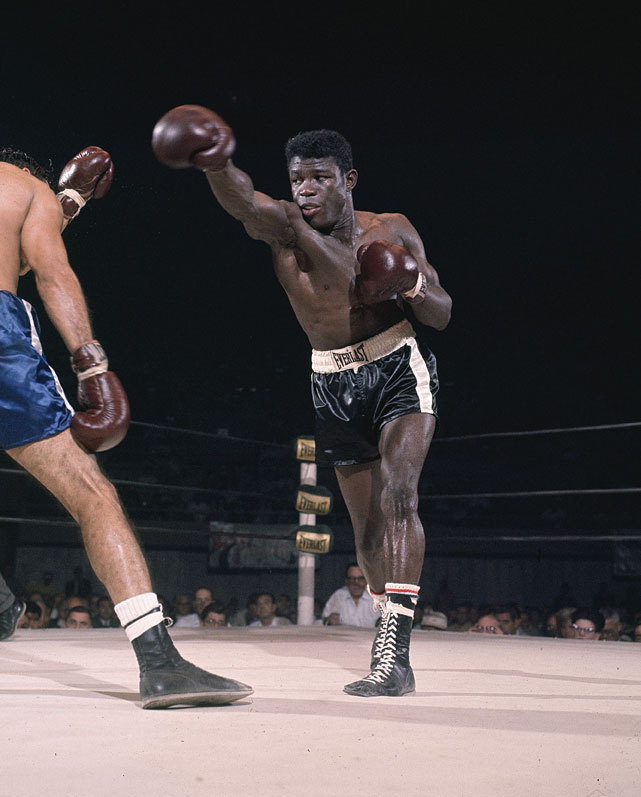 A native of the U.S. Virgin Islands and an adopted son of New York City, Griffith regained the middleweight title from Nino Benvenuti with a majority decision at Shea Stadium and gave it back to the Italian six months later on points at Madison Square Garden.