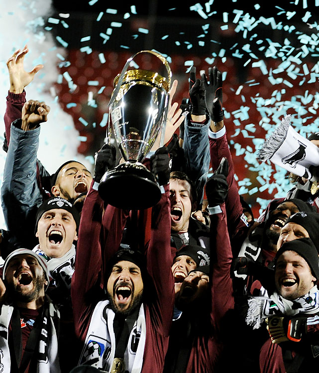 The Colorado Rapids beat FC Dallas in the 15th MLS Cup final, winning their first league title. Colorado was down 1-0 at the half but came back to force extra time. The match was decided on an own goal by FC Dallas' George John.