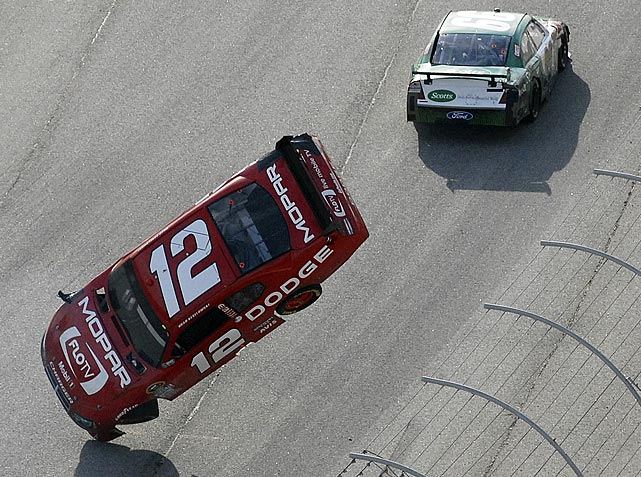 In 2009, Brad Keselowski and Carl Edwards were racing for the win in the final stretch at Atlanta when Edwards was nudged, sent aloft and into the catch fence at Talladega. Edwards' mid-race clipping of Keselowski at Atlanta this spring felt much more methodical and chilling, especially given the way the No. 12 Dodge went airborne toward the crowd. Edwards admitted intent to wreck but not so spectacularly. Keselowski was uninjured and NASCAR issued no penalties ... until Edwards wrecked him again later in the season at a Nationwide race.