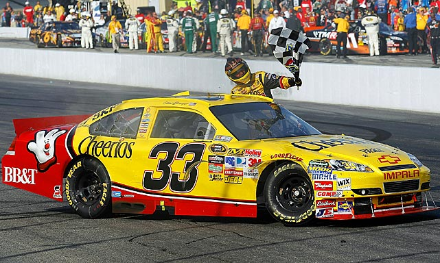 Clint Bowyer began the Chase for the Championship with a victory at New Hampshire, but was penalized 150 of his 195 points when NASCAR discovered an illegal rear-end modification in a post-race inspection. Team owner Richard Childress asserted in his appeal that a wrecker used to push the No. 33 Chevrolet after it ran out of fuel had caused it to fail template measures.