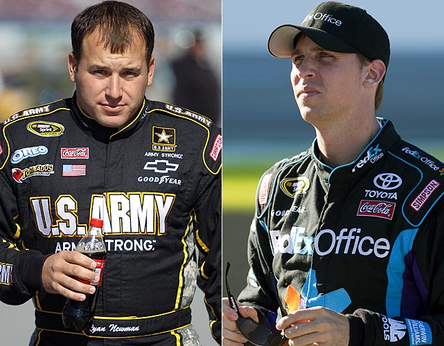"NASCAR, which has long touted itself as the most accessible of major sports and recently implored its drivers to exhibit more personality, fined Denny Hamlin and Ryan Newman undisclosed amounts for expressing opinions about the sport on Twitter. NASCAR officials defended the sanctions as ""defending"" their ""brand."""