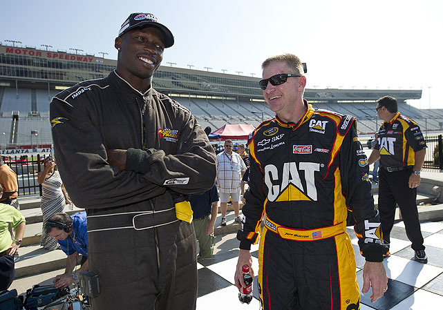Chad Ochocinco is the latest in a long line of celebrities and athletes to hop behind the wheel at some of auto racing's most famous venues. In honor of the NFL star's recent trip to Atlanta Motor Speedway, we look back at others who've made guest appearances at tracks.