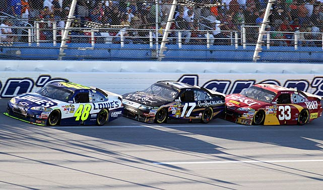 Though Jimmie Johnson didn't take the checkers at Talladega, his solid seventh-place finish secured him a 14-point lead.