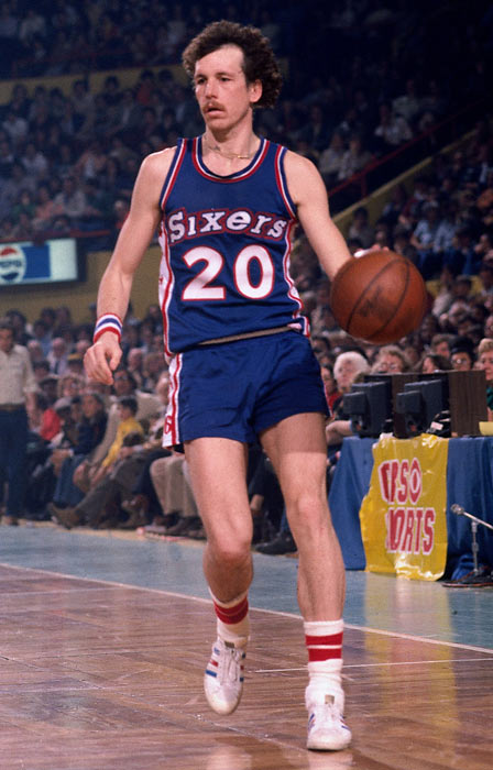 The 76ers' coach was also a terrific player in Philadelphia, averaging 17.9 points per game during his eight years with the team.  He was named to the All-Star Game four times, though his greatest on-court accomplishment may have come in Munich: Collins was a member of the 1972 U.S. Olympic basketball team that won silver.