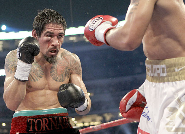 Margarito's chances of winning the fight were reduced as the damage accumulated with each passing round.