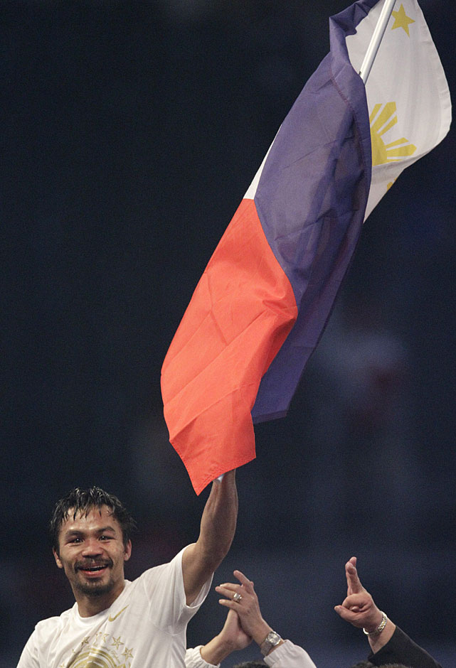 Pacquiao says he's looking forward to returning to his day job as a congressman in the Philippines.
