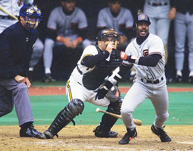 Pittsburgh fans are clever. In Bonds' first game in Pittsburgh after leaving the city for a then-record contract with the Giants, Pirates fans blanketed the field in fake money. Bonds was unfazed however, as he went 2-for-4 with a double, triple and three runs scored.