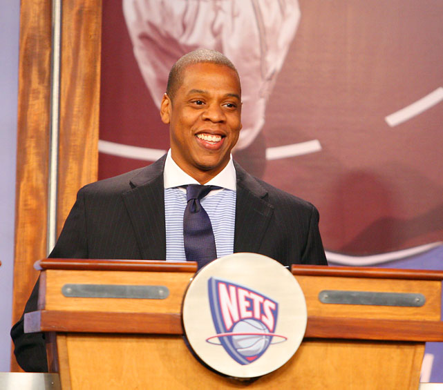 Brooklyn's Finest Jay-Z is friends with many NBA superstars, like LeBron James, but because of his Empire State of Mind, he decided to invest in the Nets, of whom he's part-owner.