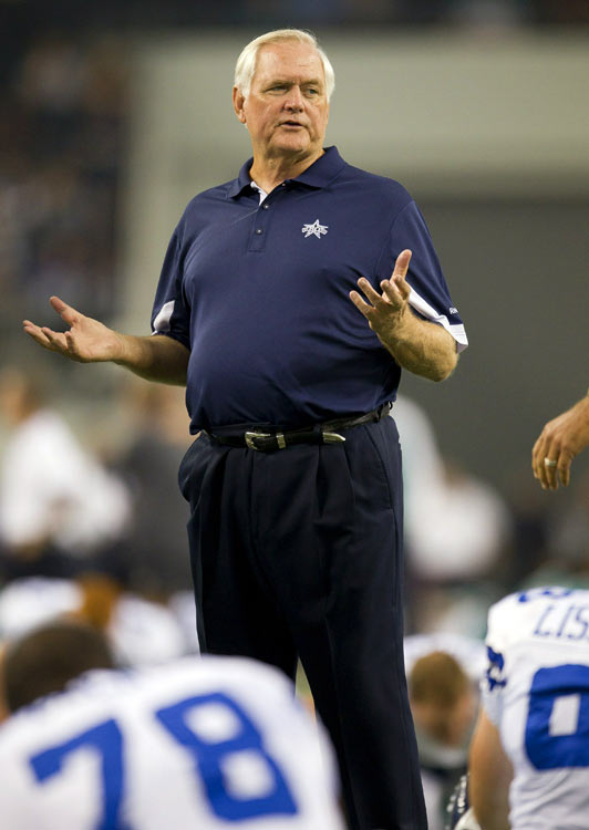 With brash owner Jerry Jones licking his lips in anticipation of his Cowboys becoming the first team to play in a Super Bowl on their home field, their affable coach guided them to a lethargic and calamitous 1-7 start and was shown the door in November.