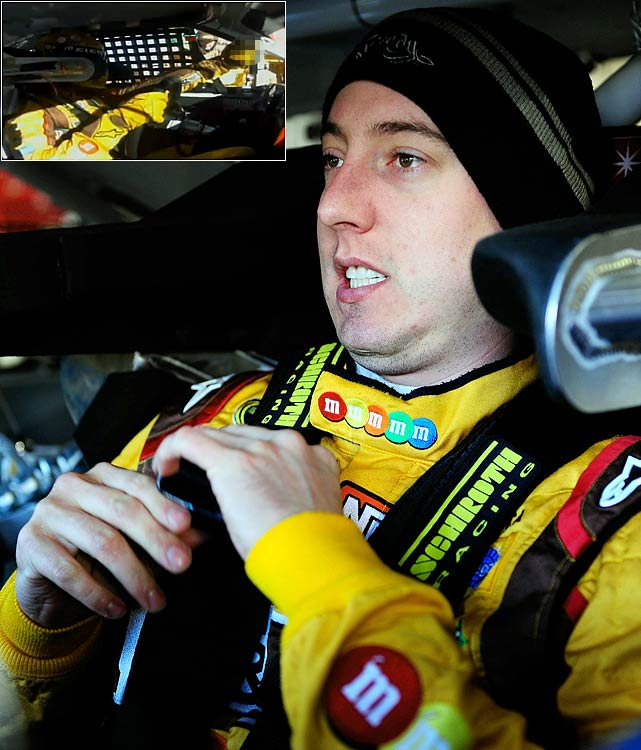 "Kyle Busch flipped off a NASCAR official, which was caught on live TV, after he was told he was busted for speeding on pit road at Texas Motor Speedway in November. He was fined $25,000 for the obscene gesture. ""I lost my cool, plain and simple,"" Busch said in a statement afterward."
