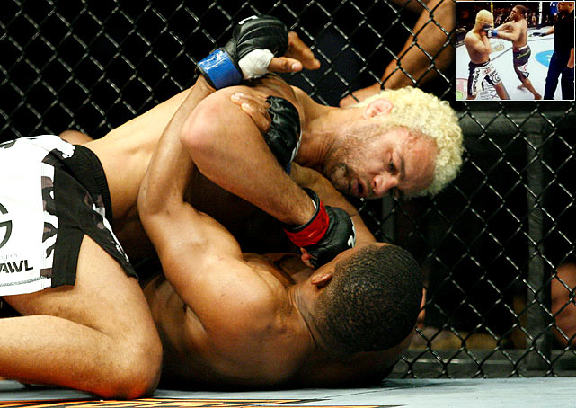 In a much-talked-about MMA moment in 2010, Paul Daley (bottom and inset right) approached Josh Koscheck from behind after the horn sounded in their May 8 fight at UFC 113 and sucker-punched him with a left hook. That came after Koscheck was a runaway winner between the two welterweights. UFC fired Daley on the spot but he later signed with Strikeforce.