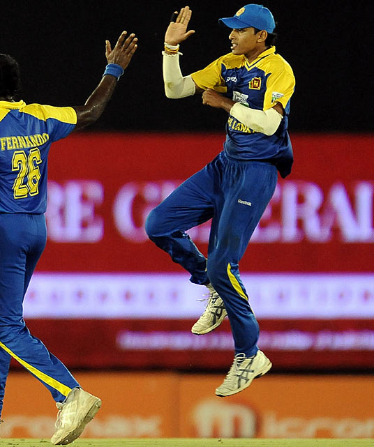 """On Aug. 16, Sri Lanka's Suraj Randiv intentionally bowled a """"no ball"""" to Virender Sehwag -- the bowler overstepped the mark by a significant margin - to ensure India's win in a One Day International while denying Sehwag, who had been sitting at 99 runs, a chance to score a century. Sehwag hit the ball for six -- that's a home run to you - but because the umpire had ruled """"no ball,"""" Sehwag's shot came after the end of the match. Randiv later apologized but was fined and suspended for one match Sri Lanka Cricket."""