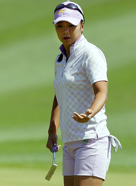 Yuko Mitsuka might be contemplative on a golf course but she certainly makes up her mind quickly when it comes to a perceived injustice. Infuriated by a two-stroke penalty for slow play during the first round of the Ladies World Championship in Japan in May, Mitsuka stalked off the course in protest. When officials fined her $21,500, she announced she was withdrawing from 11 tournaments -- eight in Japan and three overseas. So there.
