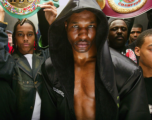 Hopkins, who turns 47 on Jan. 15, became the oldest boxer in history to win a major world title in May with a unanimous-decision victory over WBC and  Ring  magazine light heavyweight champion Jean Pascal. He defends it Saturday against Chad Dawson at Staples Center in Los Angeles (9 p.m. ET, HBO PPV). Currently the No. 6-ranked boxer in  SI.com's pound-for-pound ratings , Hopkins was 192 days older than George Foreman, who was 45 years and 10 months when he knocked out Michael Moorer for the heavyweight title in 1994. Here's a look at 40 athletes who excelled past their 40th birthdays.