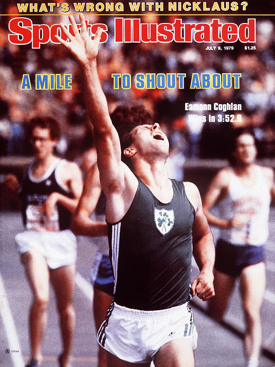 At 41, the Irish middle-distance runner became the first quadragenarian to run a sub-four-minute mile at Harvard University's indoor track on Feb. 20, 1994.