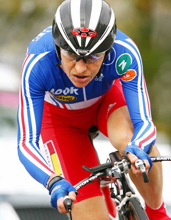 The French road cyclist, who is still competing at 52, has won 10 national titles since turning 40. She won Olympic bronze at 42 in the time trial at the Sydney Games. Longo later competed in her seventh Olympics in Beijing at 51 and placed fourth in the time trial, two seconds off the podium.