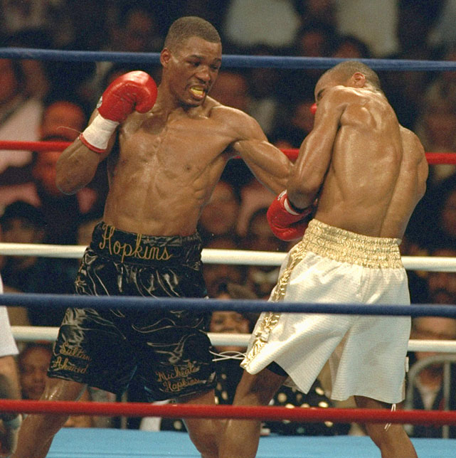Hopkins lost a unanimous decision to Jones in a boring fight that saw the two nascent talents spend most of the night shadowboxing around one another.