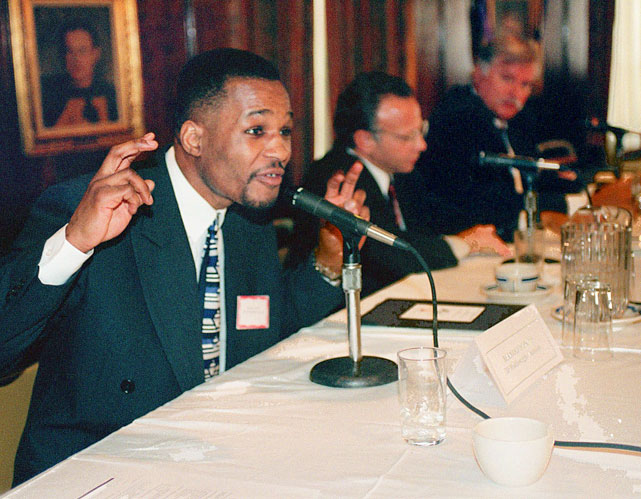 In 1999, Hopkins appeared during the first day of the national hearings on boxing reform, chaired by New York Attorney General Elliot Spitzer.