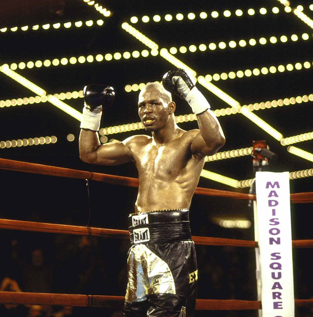 The victory over Holmes set the stage for the biggest fight of Hopkins' career to that point: a showdown with Felix Trinidad for the undisputed middleweight title.