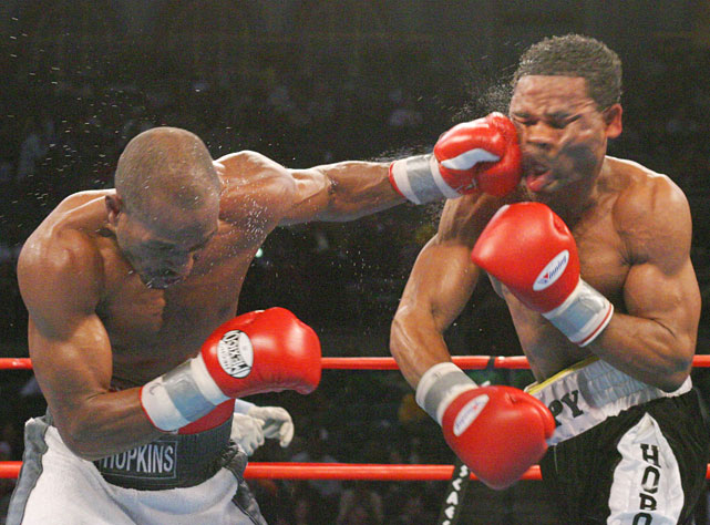 Title defense No. 17: Hopkins outpointed William Joppy in decisive fashion at Atlantic City's Boardwalk Hall