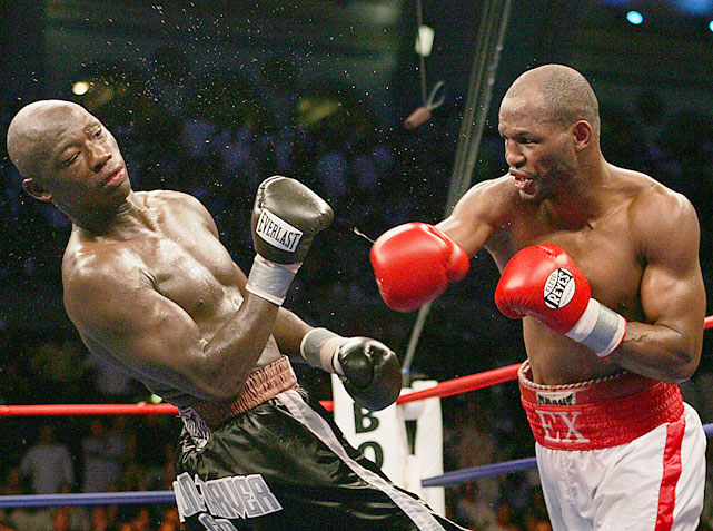 Following the two disputed losses to Taylor, Hopkins jumped two weight divisions to face  Ring  light heavyweight champion Antonio Tarver. A 3-to-1 underdog, Hopkins won a lopsided unanimous decision.