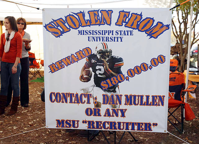 The strongest allegation came from Kenny Rogers, a recruiter from Mississippi State, who claimed Cecil Newton asked for between $100,000 to $180,000 for his son to attend MSU.