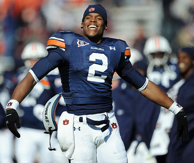 As the season progressed, Newton emerged as the nation's top player. In Auburn's first six games, he accumulated nearly 2,000 total yards of offense and 17 touchdowns.