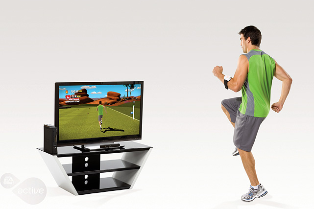 "Not a ""game"" in the traditional sense, the sequel to the wildly popular EA Sports Active allows the user to design customizable workouts based on their lifestyles and fitness goals. Like the original, the game is bundled with EA's Total Body Tracking system, which combines a heart rate monitor and motion tracking data (through the Wii Remote) to ensure an accurate workout with measurable results.  For couch potatoes, there's the Cardio Kick Start three-week introductory program; for those further along, a nine-week program with more advanced exercises. You can upload your key workout data -- including heart rate, calories burned and length of workout -- to easportsactive.com track our progress over time, optimize your workout or create and join workout groups with other Electonic Arts community members. While the original was a Wii-exclusive title, EA Sports Active 2 is available for Xbox 360 (for use with the Kinect) and on PS3.  Score: 8/10"