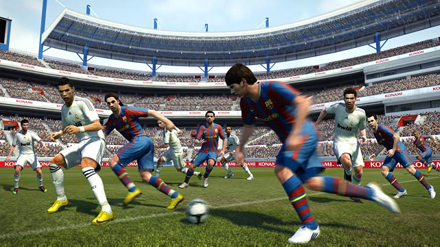 Pro Evolution stakes its claim as the best soccer simulation of the year by integrating an intuitive control set-up and sprucing up its AI. While the game's realism is certainly intact, there's an element of fun present throughout gameplay that makes this title endlessly re-playable. Passing is crisp and artificial intelligence has gotten more intelligent, resulting in a very satisfying solo experience. Cleaner graphics are a step up from last year's build and an online Master League brings strategic bidding on players into the fray.   Score: 9/10