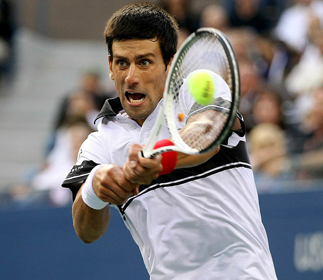 On the verge of reaching his seventh consecutive U.S. Open final and setting up the match the tennis world craved, Federer couldn't close the deal. Federer failed to convert two match points in the 10th game of the fifth set, with Djokovic hitting winners both times. Djokovic broke the five-time U.S. Open champion in the next game before closing out a 5-7, 6-1, 5-7, 6-2, 7-5 victory, denying Federer his first career meeting with Rafael Nadal at Flushing Meadows. Nadal went on to beat Djokovic in the final to complete a career Grand Slam.