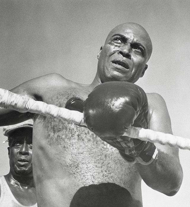 "Directed by Martin Ritt. Starring James Earl Jones, Jane Alexander, Chester Morris.   THE STORY  This fictionalized biopic of Jack Johnson, the first African-American heavyweight champion, explores how the combustible racial climate of the era created a demand for a ""great white hope.""  THE LEGACY  The film adaptation of Howard Sackler's award-winning play remains Jones' defining role; he earned an Oscar nomination for Best Actor.  THE QUOTE  ""Hey, look, man, I ain't fighting for no race, I ain't redeeming nobody. My mama told me  Mr. Lincoln  done that. Ain't that why you shot him?""  --Jack Jefferson (Jones)"