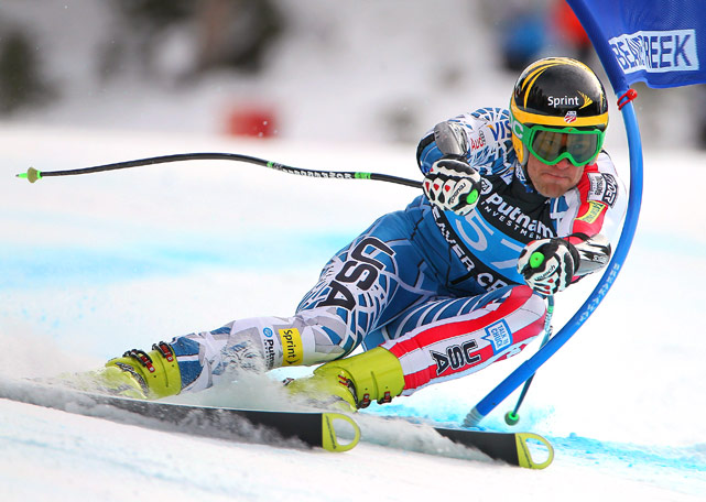 Steven Nyman of the USA was the highest placing American as he finished 25th in the Super Giant Slalom at the Audi FIS World Cup Birds of Prey on December 4 in Beaver Creek, Colo.